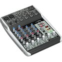 Behringer Q802USB Premium 8-Input 2-Bus Analog Audio Mixer