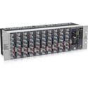 Behringer Eurorack RX1202FX Premium 12-Input Mic/Line Rack Mixer with XENYX Mic Preamplifiers British EQ & Multi-FX