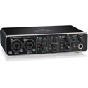 Behringer UMC204HD Audiophile 2x4 24-Bit/192 kHz USB Audio/MIDI Interface with MIDAS Mic Preamps