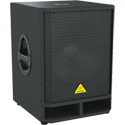 Behringer VQ1500D Professional Active 500W 15in. PA Subwoofer w/ Built-In Stereo Crossover