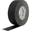 Pro Tapes 001UPCG255MBLA Pro-Gaff Gaffers Tape 2 Inch x 55 Yards in Black