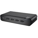 Belkin F1DN104F-3 Advanced Secure Dual-Head DVI-I KVM Switch