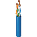 Belden 2412 - 23 AWG Enhanced Category 6 Nonbonded-Pair Cable (1000 ft.RIB) Blue