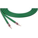 Belden 4855R 12G-SDI 75 Ohm 4K UHD Mini Coax Video Cable - Green - Per Foot