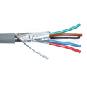 Belden 5304FE 6 Conductor 18 AWG Security & Alarm Cable - Gray - 500 Foot