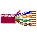 Belden 7987R Paired Videotwist Nanoskew Cable Maroon 1000ft