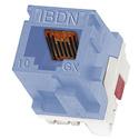 Belden AX102282 10GX Cat6A Keystone Modular Jack White