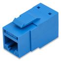Belden RVAMJKUBL-B24 REVConnect 10GX T568 A/B UTP RJ45 Modular Jack Connector 24-Pack - Blue
