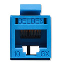 Belden RVAMJKUBL-S1 REVConnect 10GX Category 6A Connectors - Blue