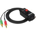 Camplex ATEM Headset Push-to-Talk Belt-Clip Adapter 4-Pin Female XLR