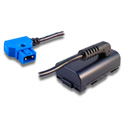 Blueshape BPA-009 D-Tap/P-Tap BUBBLEPACK Adapter Cable for Panasonic HPX Series