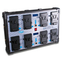 Blueshape CVS8XW 8 Channel Fully Simultaneous Wall-Mount Charger