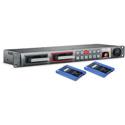 Blackmagic HyperDeck Studio Pro 2 Ultra HD 4K 6G-SDI w/2 OWCSSDMX6G480 Drives