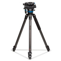 Benro C373FBS8 Carbon Fiber Video Tripod Kit with S8 Video Head