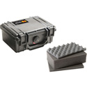 Pelican 1120 Watertight Crushproof & Dust Proof Small Case - Black