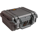 Pelican 1200 Mini S Case w/Foam 10.75inL x 9.75inW x 5inD Black