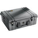 Pelican 1600 Case King With Foam - 23.25inL x 20.75inW x 9inD- Black 31 Inch Diagonal Length