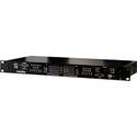 BroaMan MUX-22-CC-6IN-2OUT 4-Channel Clear-Com Intercom plus 2 HD-SDI Video In and 6 HD-SDI Video Out Fiber Mux