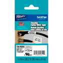 Brother TZeFX261 1.4 in x 26.2 ft ( 36 mm x 8 m) Black on White Flexible ID