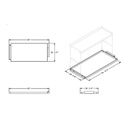 Magliner Junior 18 Inch Top Shelf (Aluminum)