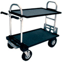 Magliner Junior Cart with 8in wheels and shelves