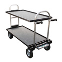 Magliner Senior Cart- Modified with 8 Inch Wheels Top and Bottom Shelf