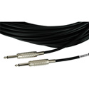 Belden Star-Quad Audio Cable 1/4-Inch TS Male to Male 3 Foot - Black