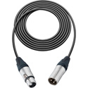 Belden Star-Quad Mic Cable XLR Male to XLR Female 3 Foot - Black