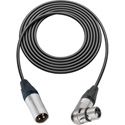 Belden Star-Quad Mic Cable XLR Male to Right Angle XLR Female 10 Foot