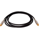 Belden Star-Quad Audio Cable RCA Male to Male 3 Foot - Black