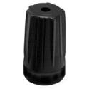 Neutrik BST-BNC-0 BNC Rear Twist Colored Boots - Black - 100 Pack