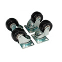 Set of 4 Casters for Open Rack Series