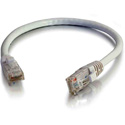 Cables To Go 27161 Cat6 Snagless Unshielded (UTP) Ethernet Network Patch Cable - White - 3 Foot