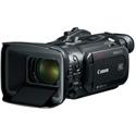 Canon VIXIA HF GX10 HD Camcorder Kit - Lens Hood Barrier Battery Pack BP-828 Com