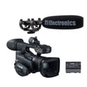 Canon XF200 Professional HD ENG Camcorder Special Offer Kit with Free BP-955 Bat
