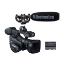 Canon XF205 Professional HD ENG Camcorder Special Offer Kit with Free BP-955 Bat