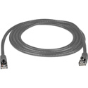 Molded Cat6 UTP Patch Cable 24AWG 50u 3 Foot Gray