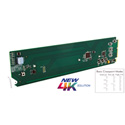Cobalt Digital 9910DA-4Q-3G 3G/HD/SD-SDI/ASI (UHD/Quad-Channel) Multi-Rate Distribution Amplifier with x4 Output Cross