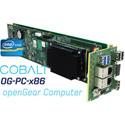 Cobalt OG-PC-x86-B Integral Frame-Installed PC for openGear Frames