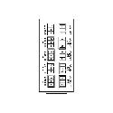 Cobalt RM20-9241-B 20-slot Frame Rear I/O Module (Standard Width)