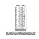Cobalt RM20-9242-D/S 20-Slot Frame Rear I/O Module - Supports 2 Cards - Dual 1x4 Balanced Analog Audio I/O