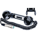 Clear-Com HS-6 Telephone Style Black Handset 4-pin XLR female
