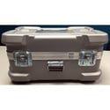 CDC 919 Super-Shipper Case with Built-In Wheels - 26in L x 16in W x 12in D - Silver - With Foam