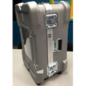 CDC 919 Super-Shipper Case with Built-In Wheels - 34in L x 22in W x 12in D - Silver - With Foam