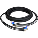 CES-RJ45 4-Channel RJ45 CAT5e Tactical Ethernet Snake Cable 25 Foot