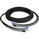 CES-RJ45 4-Channel RJ45 CAT5e Tactical Ethernet Snake Cable 25 Foot