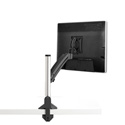 Chief K1C110B KONTOUR Dynamic Column Desk Clamp Single Monitor Mount - Black