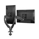 Chief K1D220B Kontour K1D Dynamic Desk Clamp Mount for 2 Monitors