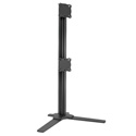 Chief K3F120B KONTOUR K3 Free Standing 1x2 Array - Black