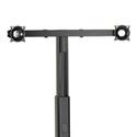 Chief KFA225B Widescreen Dual Monitor Cart/Stand Accessory